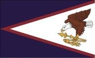 Flagge von Amerikanisch-Samoa