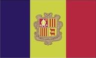 Flagge von Andorra