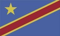 Flagge von Demokratische Republik Kongo / Kinshasa