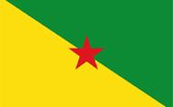 Flagge von Französisch-Guayana