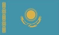 Flagge von Kasachstan