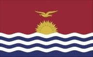 Flagge von Kiribati (Gilbert Inseln)