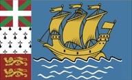 Flagge von Saint-Pierre und Miquelon