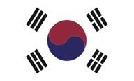 Flagge von Südkorea (Republik Korea)