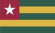Flagge von Togo