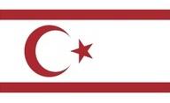 Flagge von Türkische Republik Nordzypern