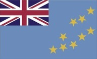 Flagge von Tuvalu (Ellice Islands)