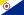 Flagge zur Ländervorwahl von Bonaire
